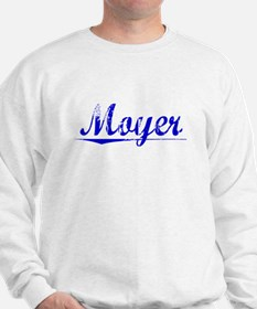 Moyer, Blue, Aged Sweatshirt