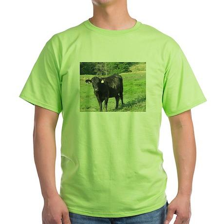Moo Green T-Shirt