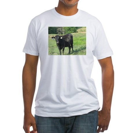 Moo Fitted T-Shirt