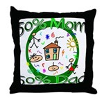 Stylish Maternity Throw Pillow