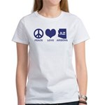 Peace Love Arizona Women's T-Shirt