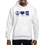 Peace Love Arizona Hooded Sweatshirt