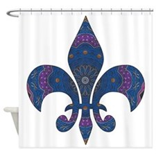 Alchemy Fleur De Lys Shower Curtain