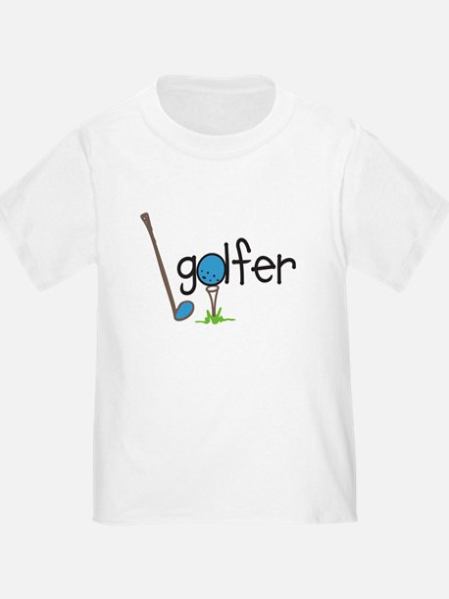 Golfer T