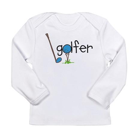 Golfer Long Sleeve Infant T-Shirt
