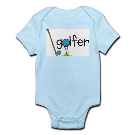 Golfer Infant Bodysuit