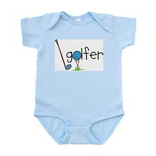 Golfer Infant Bodysuit