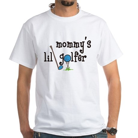 Mommys Lil Golfer White T-Shirt