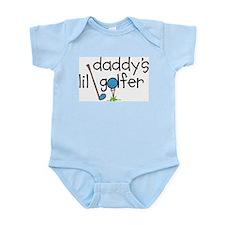 Daddys Lil Golfer Infant Bodysuit