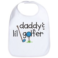 Daddys Lil Golfer Bib