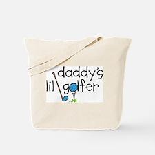 Daddys Lil Golfer Tote Bag
