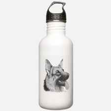 German Shepard Stainless Water Bottle 0.6L