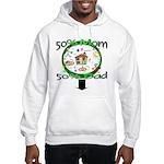 Stylish Maternity Hooded Sweatshirt
