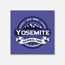 "Yosemite Midnight Square Sticker 3"" x 3"""