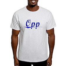 Opp, Blue, Aged T-Shirt