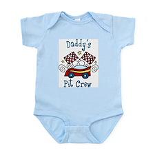 Daddys Pit Crew Infant Bodysuit