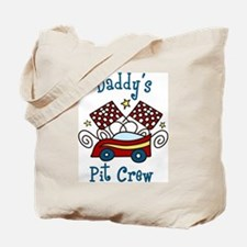 Daddys Pit Crew Tote Bag