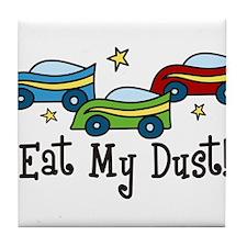 Eat My Dust Tile Coaster