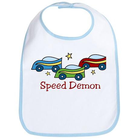 Speed Demon Bib