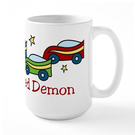 Speed Demon Large Mug