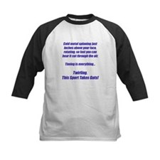 Twirling.  This sport takes guts! Tee