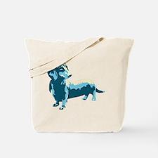 Dachshund Pop Art dog Tote Bag