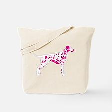 Dalmatian Pop Art dog Tote Bag
