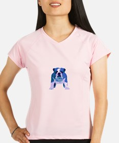 English Bulldog Pop Art Performance Dry T-Shirt