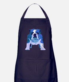 English Bulldog Pop Art Apron (dark)