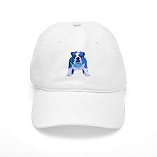 English Bulldog Pop Art Baseball Cap