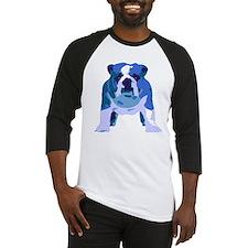 English Bulldog Pop Art Baseball Jersey