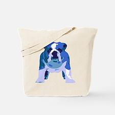 English Bulldog Pop Art Tote Bag