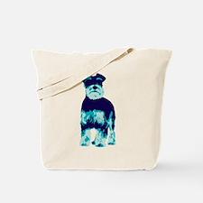Schnauzer Pop Art dog Tote Bag
