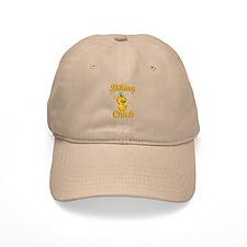 Biking Chick #2 Baseball Cap