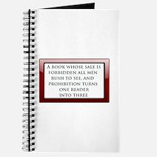 Forbidden Books Journal