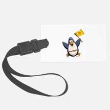New Mexico Penguin Luggage Tag