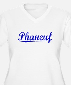 Phaneuf, Blue, Aged T-Shirt