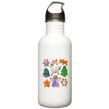 Christmas Cookies Water Bottle