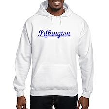 Pilkington, Blue, Aged Hoodie