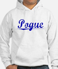 Pogue, Blue, Aged Hoodie