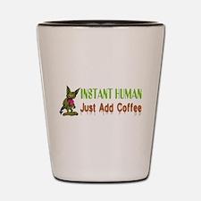 Instant Human Shot Glass