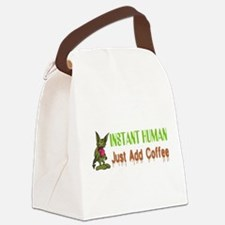 Instant Human Canvas Lunch Bag