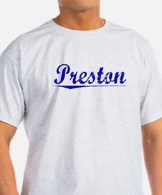 Preston, Blue, Aged T-Shirt