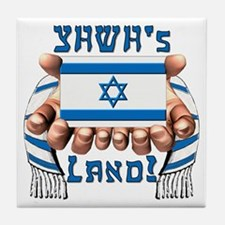 YHWH's Land! Tile Coaster