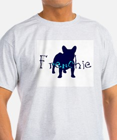Frenchie Craze Ash Grey T-Shirt
