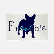 Frenchie Craze Rectangle Magnet