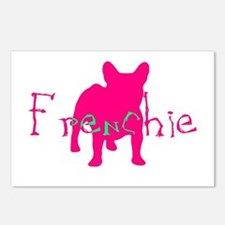Frenchie Craze Postcards (Package of 8)