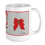 Santa the Freemason's Large Mug