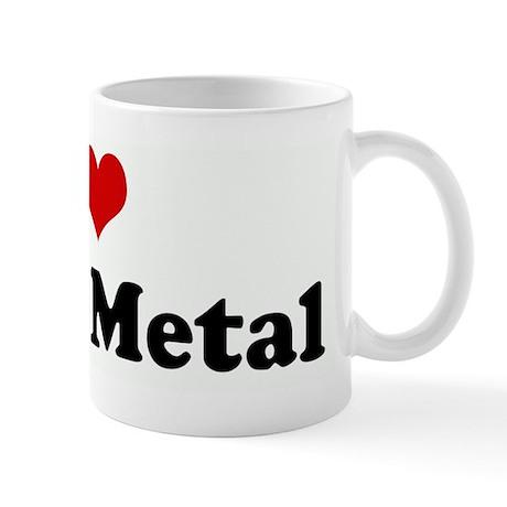 I Love Black Metal Mug