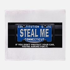 Steal My Conneticut Car Throw Blanket